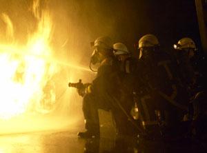 Fire damage control